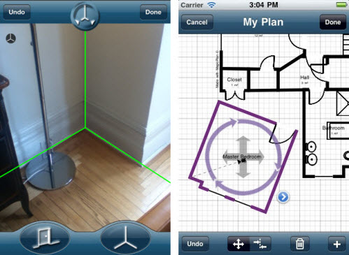 Magical Floor Plan With An Ipad Or Iphone Bqe Blog